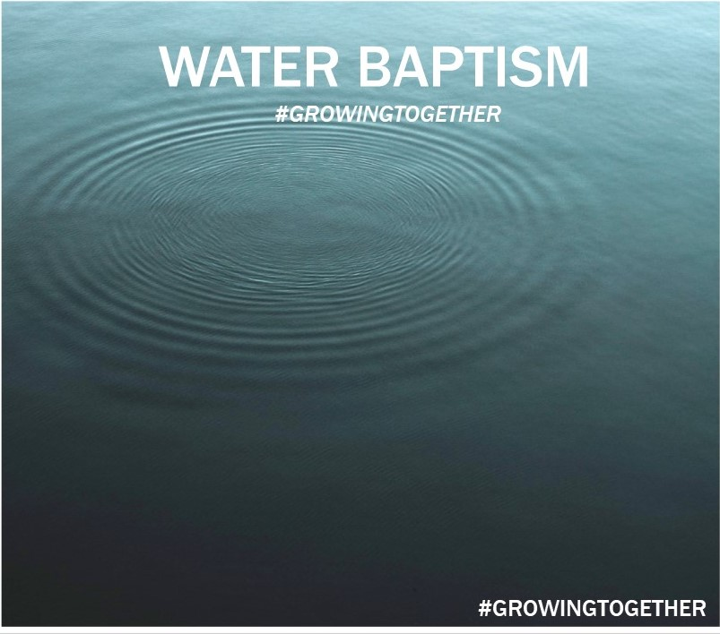 Water Baptism Cover Slide