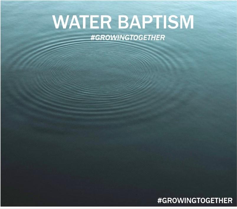 Water Baptism Cover Slide