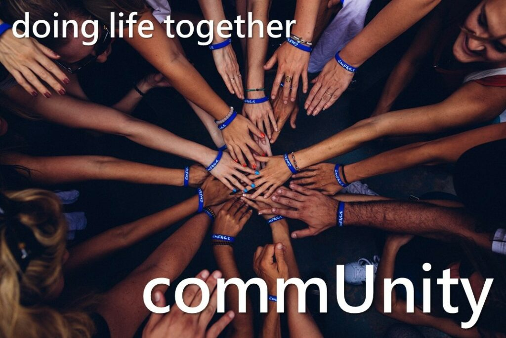 20190825 Doing Life Together-Can't Have A Community Without U-Donny Clarricoates
